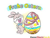 Osterhase Bild-Clipart kostenlos