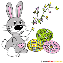 Easter Songs zingt Easter Bunny Clipart