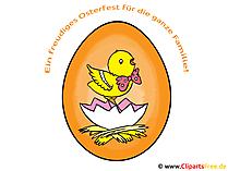 Paskalya tebrik kartı söyleyerek