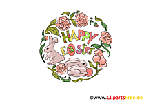 Osterngrüße Bild, Clipart, Grafik