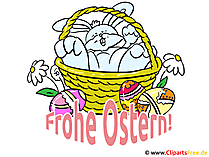 Osterwunsch Frohe Ostern