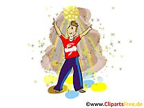 Bilderdatenbank mit Partybildern, Cliparts, Grafiken