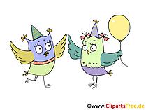 Verjaardag feest clipart