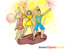 Celebrate Clip Art, Image, Illustration