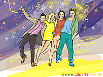 Christmas Party Clipart, Pic, Image free