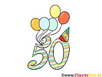 Clipart Verjaardag 50