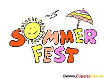 Clipart zomerfeest