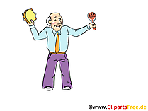 Clipart plezier, feest, viering