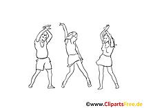 Dance Clip Art, Graphic, Pic