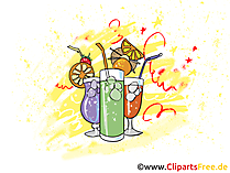 Drinks Clipart, Illustration, Image, Pic