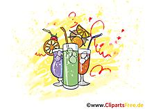 Dranken Clipart, Illustratie, Afbeelding, Pic