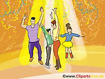 Uitnodiging voor feest clipart, afbeelding, grafisch, illustratie