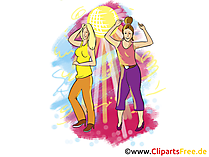 Feiern Clipart, Bild, Grafik, Illustration