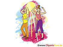 Vier Clipart, Afbeelding, Grafisch, Illustratie