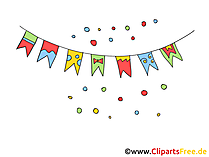 Free Party Clipart, Pics, Images
