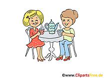 Verjaardagsfeestje illustratie, afbeelding, Clipart, tekenfilm
