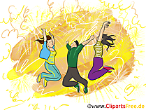 Geburtstagsparty Clipart, Bild, Grafik, Illustration