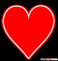 Herz Kartenfarbe