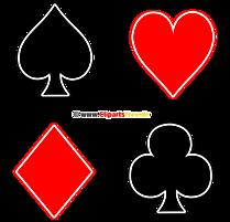 Kartenfarben Bild