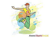 Laat dans clipart, afbeelding, grafisch, illustratie