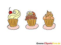 Kekler Clipart, Komik, Çizgi Film