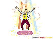 Oktoberfestpartij clipart, grafisch beeld, illustratie