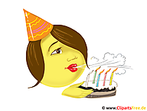 Smiley Geburtstag
