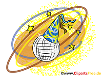 Spiegelkugel Clipart, Bild, Grafik, Illustration