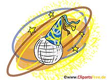 Spiegelbal Clipart, afbeelding, grafisch, illustratie
