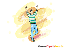 Taenzer Clipart, Bild, Grafik, Illustration