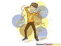 Dansen Clipart, Afbeelding, Kunstwerk, Illustratie