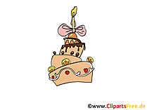Torte Clipart, Bild,  Illustration