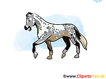馬イラストやクリップアート