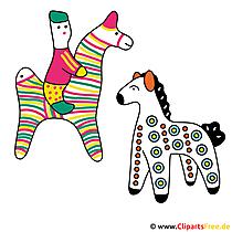 Kostenlose Illustrationen Pferde