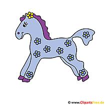 Pferd Clip Art gratis