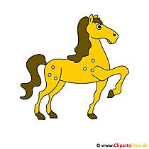 Ross Pferd Bild - Clipart