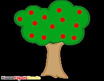 Apfelbaum Clipart - Bild