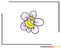Cartoon Blume Clipart free