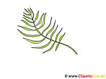 Palmzweig Clipart zum Palmsonntag