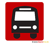 Bus pictogram