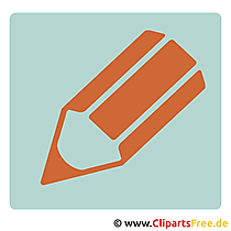 Clipart Stift - Piktogramme kostenlos