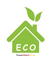 Eco Haus Clipart
