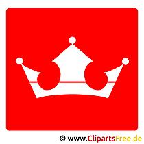 Krone Bild Piktogramme