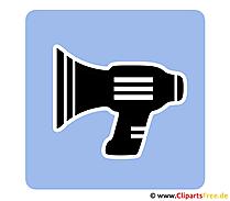Lautsprecher Bild Piktogramm