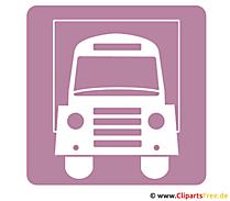 Vrachtwagen pictogram