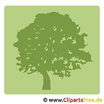 Piktogramm kostenlos Baum