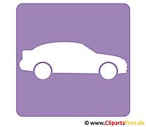 車のピクトグラム