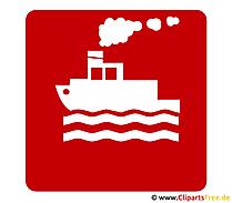 Schip pictogram