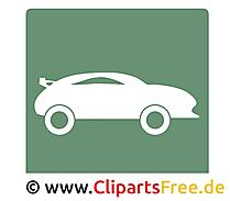 Sportwagen pictogram