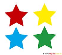 Yıldız resimleri, küçük resim, illüstrasyon